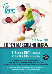 Open Masc padel